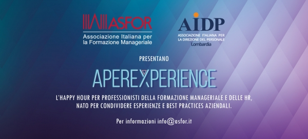 APEREXPERIENCE ASFOR-AIDP LOMBARDIA
